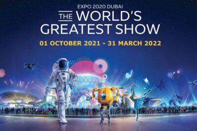 EXPO in Dubai - THE WORLD's GREATEST SHOW