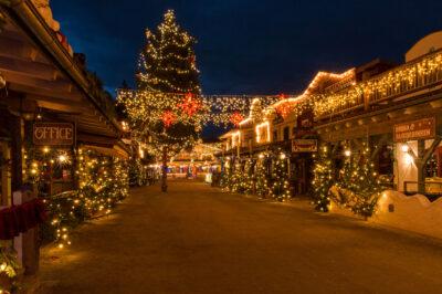 Winter Western Wonderland  Deutsch-amerikanischer Weihnachtsmarkt in Pullman City