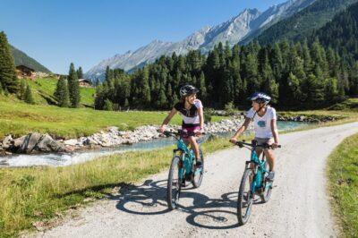 Radreise:  Entlang des Tauern-Radwegs durch Salzburg und Tirol